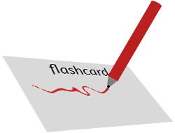 Make your own flashcards